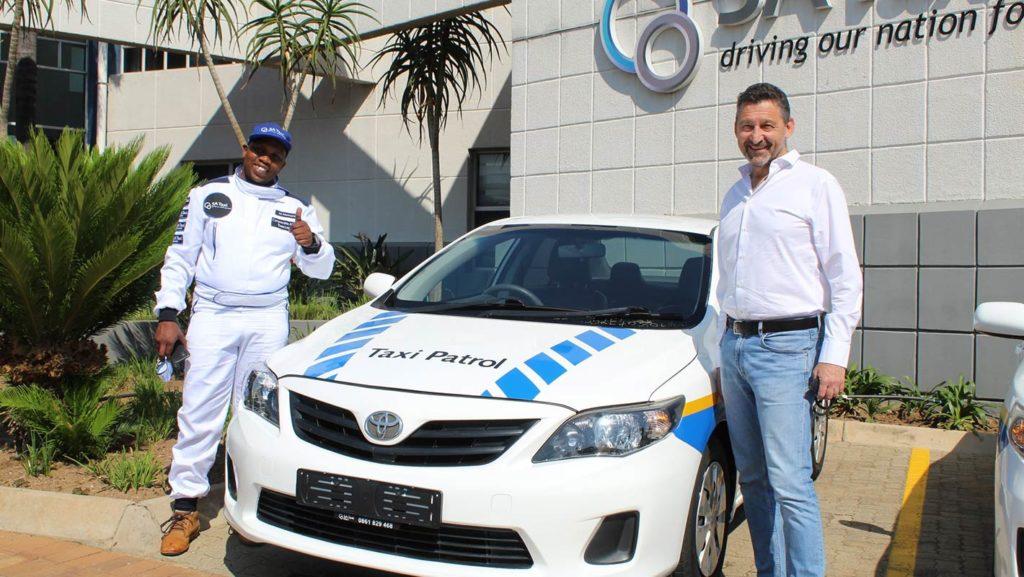 SA Taxi Hands Over Patrol Vehicles